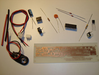 The Sequenziatore Circuit Board Kit comes with