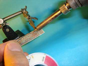 The Sequenziatore and Soldering